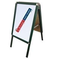 A0 Moss Green A-board (RAL 6005)~A-Board_Green_CornerCSF4W.jpg~A-Board_Green_SideCSF4W.jpg