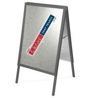 A0 Slate Grey A-board (RAL 7015)