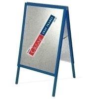 A0 Gentian Blue A-board (RAL 5010)