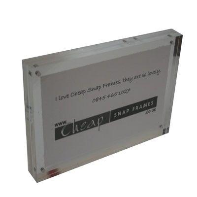 A6 Magnetic Acrylic Block