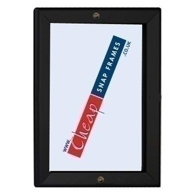 1000mm x 1400mm 32mm Lockable Black Snap Frame