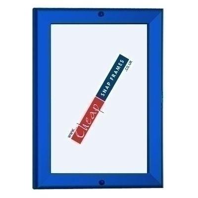 40x60 Blue Lockable Poster Frame