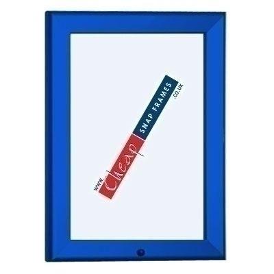 Blue Lockable Snap Frames