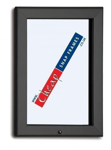 A1 Slate Grey Lockable Snap Frame 32mm