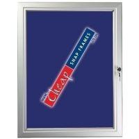 6 x A4 Blue Felt Back Noticeboard
