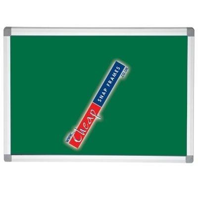 900x600mm Medium Green Pin Board Notice Board
