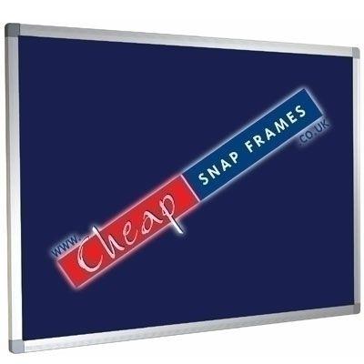 1200mm x 900mm Blue Felt Noticeboard Class 0