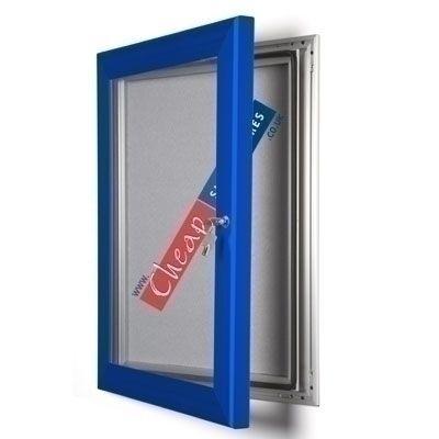 1000mm x 700mm Ultramarine Blue Pin Board