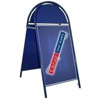 20x30 Blue Round A-board