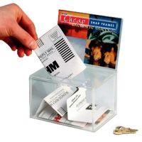 Small Suggestion Box & Header - Lockable